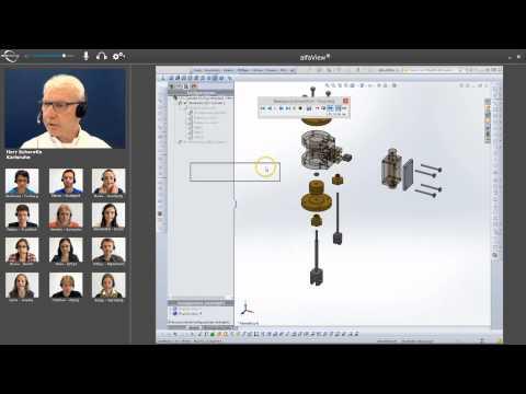Präsenzunterricht mit Videotechnik der neuesten Generation