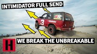 WE BREAK THE INTIMIDATOR. ESTERO BEACH SHRED!!