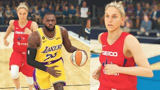 NBA vs WNBA Players: Can Women Play In The National Basketball Association? NBA 2K20