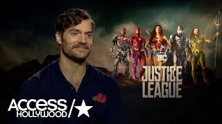 Henry Cavill Reveals How He Gets Into Superman Shape for 'Justice League'   Access Hollywood