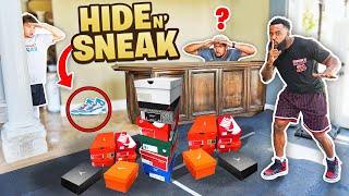 2Hype Hide N' Sneak! Find The Sneaker You Get To Keep It!