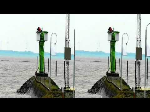 3D SbS timelapse maritime pierlight Xilisoft Side by Side conversion from 2D