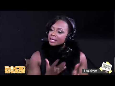 Phaedra Parks on The Rock Newman Show - YouTube