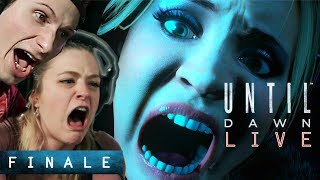 """Scared Buddies Play """"Until Dawn"""" Until They Beat It - Finale"""