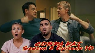 Cobra Kai Season 2 Episode 10 'No Mercy' Finale REACTION!!