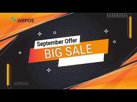 BIG SALE. UP TO 50% OFF - IVEPOS POS Software