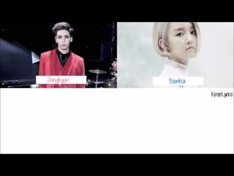Jonghyun (Shinee) - Love Belt ft. Younha [English/Romanization/Hangul] Color + Picture Coded HD