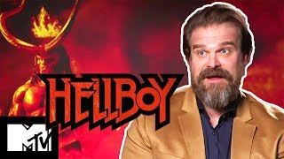 Which Avenger Would Be BFF of Hellboy's David Harbour?   MTV Movies