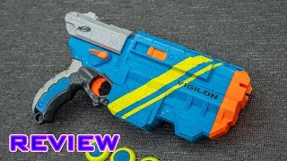 [REVIEW] Nerf Vortex VTX Vigilon   Unboxing, Review, & Firing Demo