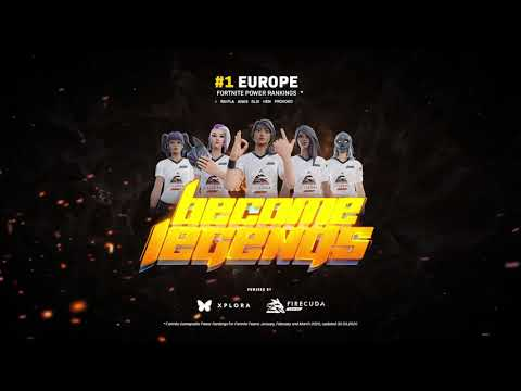Short Announcement - BL #1 Ranked Fortnite team EU (Q1 2020)