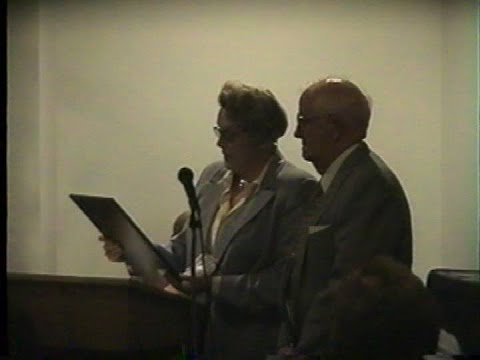 RPFD Honors Red Wilder 5-4-02