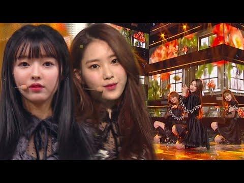 《ADORABLE》 OH MY GIRL(오마이걸) - Secret Garden(비밀정원) @인기가요 Inkigayo 20180121