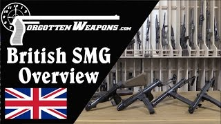 British Submachine Gun Overview: Lanchester, Sten, Sterling, and More!