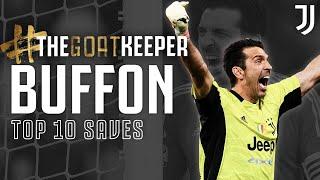 🐐🧤 Gianluigi Buffon - Top Ten Saves | #theGOATkeeper | Juventus