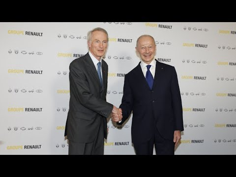 Groupe Renault's Board of Directors– Press conference from Jean-Dominique Senard and Thierry Bolloré