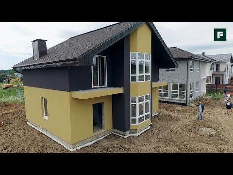 Быстровозводимые дома из трёхслойных железобетонных панелей // FORUMHOUSE