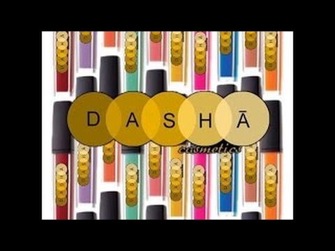 I Love Dasha Cosmetics| Makeup Unveiling.