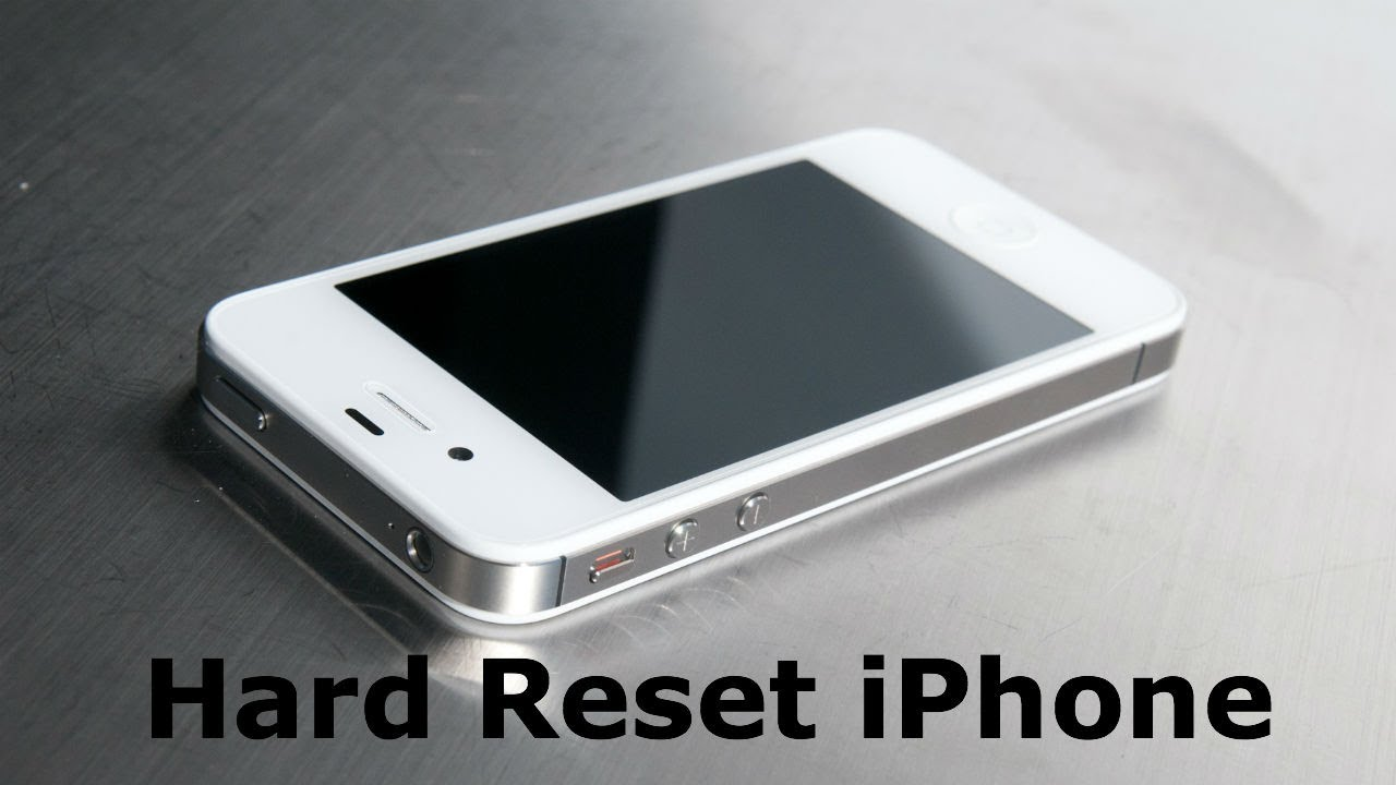 iphone 4 hard reset reset iphone 7498