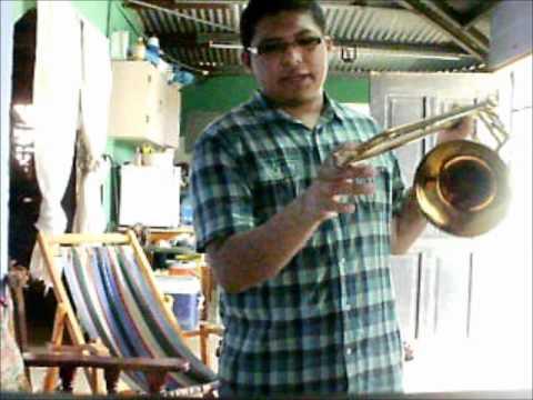 tutorial de como aprandre a tocar trombon by: Hildebrando Martinez