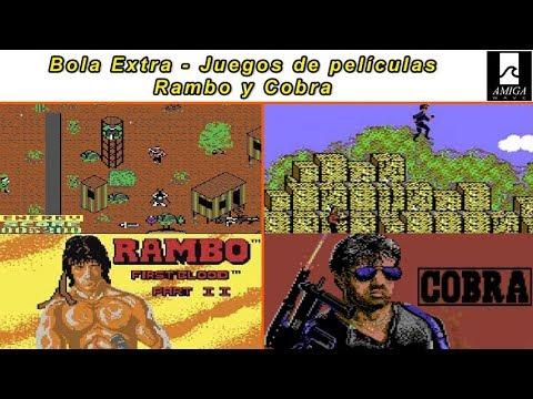 Bola Extra - Juegos de películas ... Rambo y Cobra en todas sus versiones.