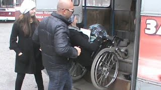 Прогулка по Нальчику в инвалидной коляске