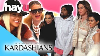 Fashion LOOKS | Keeping Up With The Kardashians