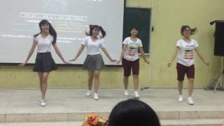 Nhảy vui vẻ đơn giản