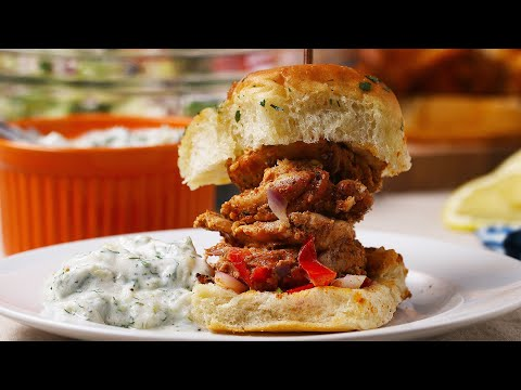 Chicken Gyro Sliders ? Tasty Recipes