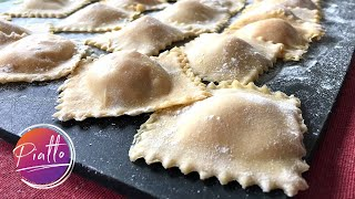 How to Make Ravioli Dough from Scratch | Using the KitchenAid Mixer Pasta Attachment