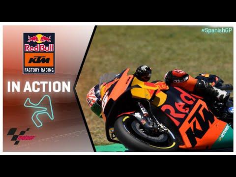 KTM in action: Gran Premio Red Bull de España