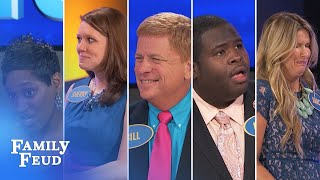 ALL-TIME GREATEST MOMENTS in Family Feud history!!!   Part 8   More Funniest Answers!!!
