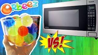 Orbeez VS Microwave (DANGER!)