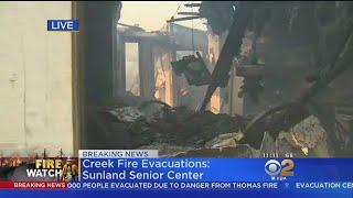 6 Homes In 1 Sylmar Neighborhood Destroyed In Creek Fire