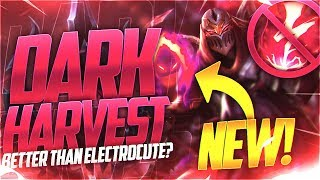 LL STYLISH | [PBE] DARK HARVEST ZED BETTER THAN ELECTROCUTE?