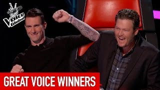 The Voice   GREAT WINNERS from all around the world