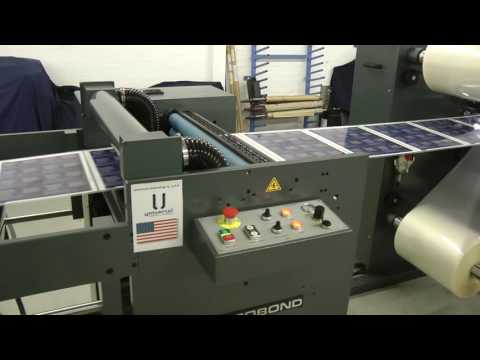 Autobond Edgemaster 76 EH - 10 mil edge seal - on test for customer in USA