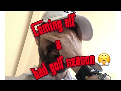 Coming off a bad golf season (Do this!)