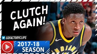 Victor Oladipo Full Highlights vs Cavaliers (2017.12.08) - 33 Pts, 8 Reb, CLUTCH!