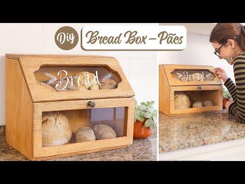 DIY Porta Pães – Bread Box – Decorando a Cozinha 04