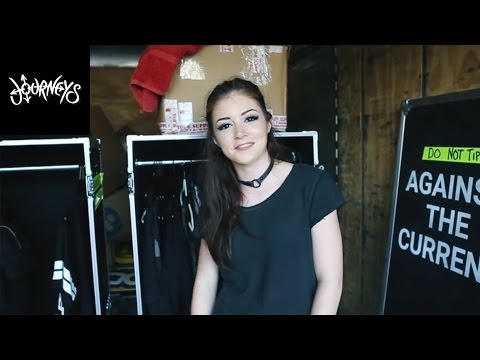 Journeys | What's in My Suitcase? w/ Chrissy from Against The Current @ Vans Warped Tour 2016