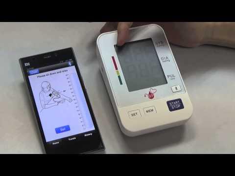 BP Healthcare Group - BP Bluetooth Blood Pressure Meter