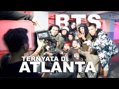 Ternyata Shooting Mic drop Bts Gen Halilintar di Atlanta - Behind The Scene Part 2