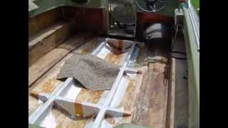 1972 Newman New Stringers and New Floor