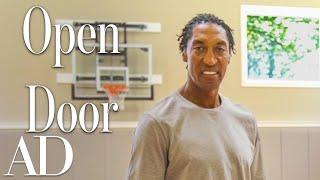 Inside Scottie Pippen's Chicago Mansion With An Indoor Court | Open Door | Architectural Digest