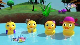 Five Little Ducks Children's Story & More Kids Videos & Songs for Kids Education