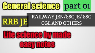 LIFE SCIENCE GK FOR ALL EXAMS PART 1