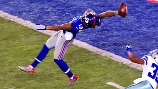 EVERY ANGLE: Odell Beckham Jr.'s One-Handed TD Catch! | Ultimate Highlights | NFL
