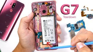 LG G7 Teardown! - I ThinQ its beautiful...