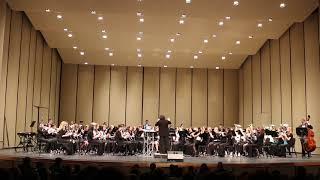"All District Band (Spring 2019) - ""Evening Song"""