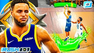LEGEND STEPH CURRY DOMINATES the RUSH 1v1 EVENT in NBA 2K21